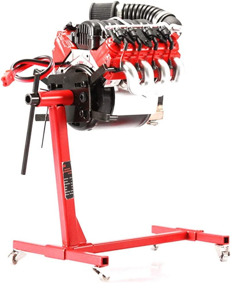Free Size rot ningdeCK Universal Motorst/änder Edelstahl Drehbar Motorst/änder f/ür V8 Motor Motorreparatur Halter Motor Montagest/ütze nicht null