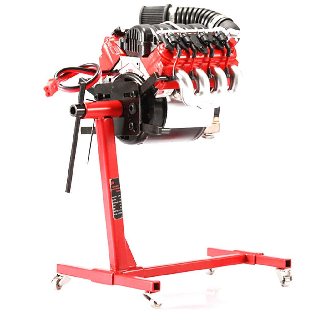 Come Mostrato nellimmagine Taglia Unica Supporto per Riparazione Motore con Perno Fisso per Telaio di Riparazione TRX4 SCX10 CVERY