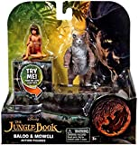 Disney Jungle Book Baloo and Mowgli Action Figures (2 Pack)