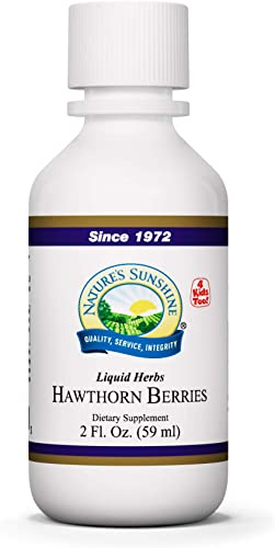 Nature s Sunshine Hawthorn Berries Extract 2 Fl Oz
