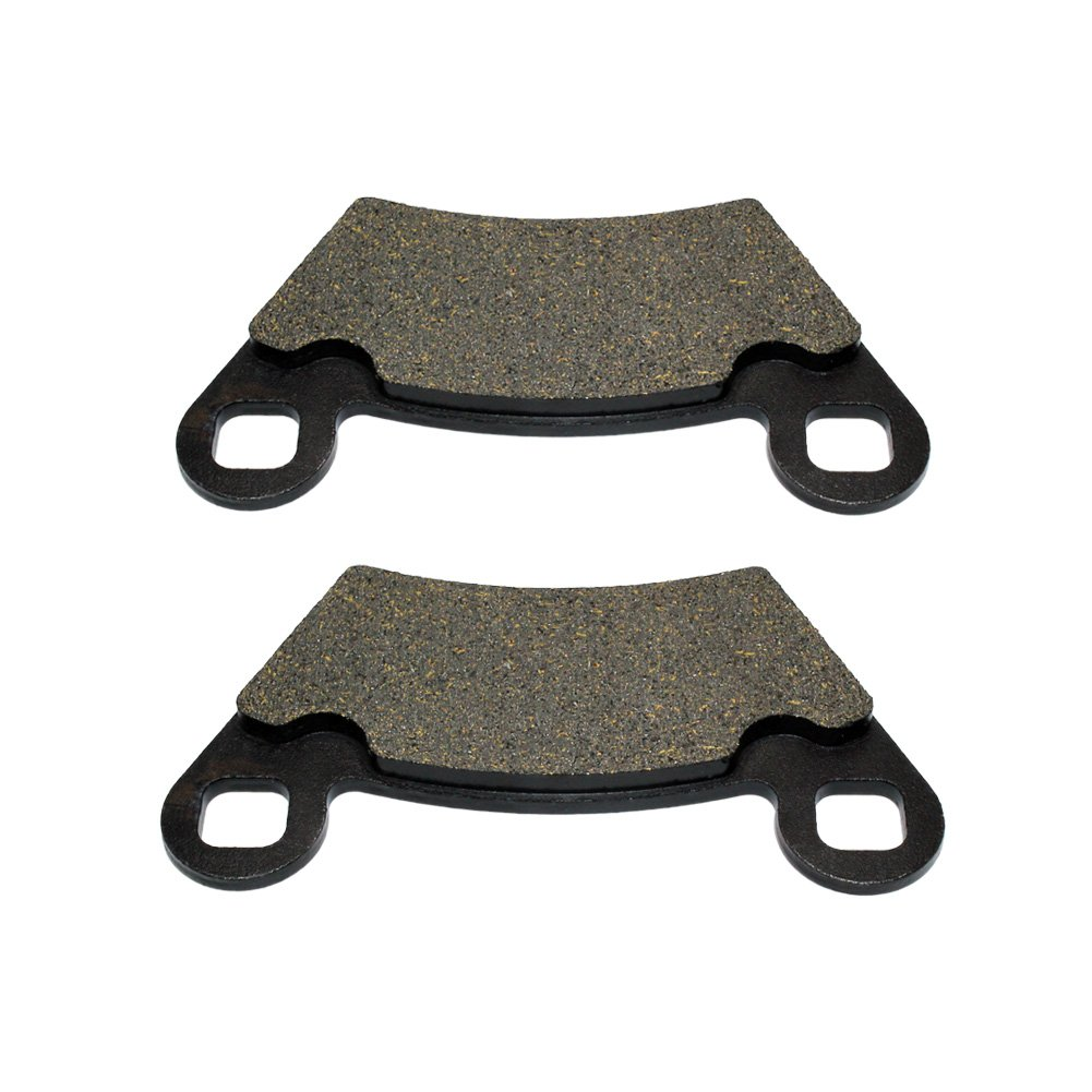 Road Passion Brake Pads Front and Rear for POLARIS 700 Ranger XP 4x4 2006//6x6 EFI 2006-2009//4x4 EFI//LE 2007