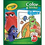 Crayola Finding Dory Color & Sticker Book by Crayola