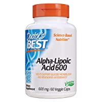 Doctor's Best Alpha-Lipoic Acid, Non-GMO, Gluten Free, Vegan, Soy Free, Promotes...
