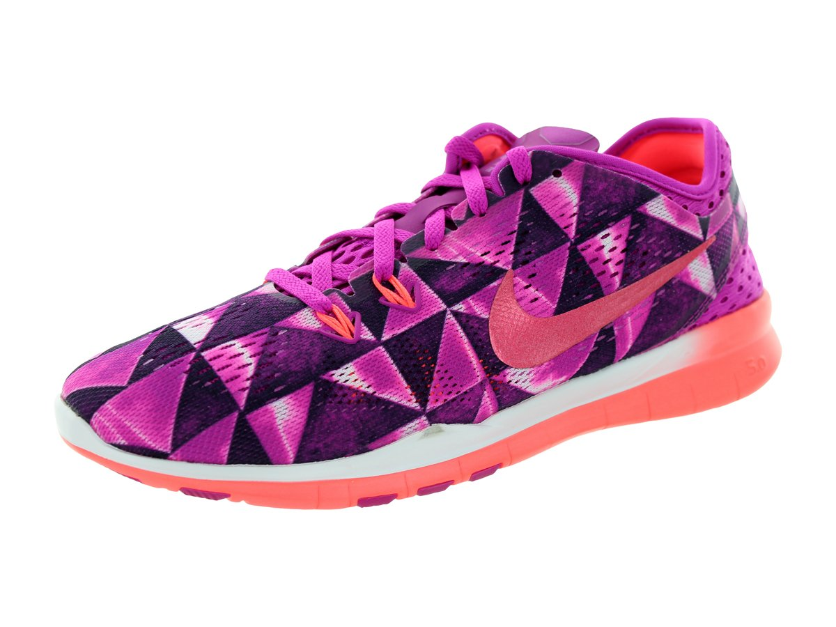 NIKE Women's Free 5.0 TR Fit 5 Training Shoe B00KA8FL7Y 6 B(M) US|501-FUCHSIA FLASH HOT LAVA FUCHSIA GLOW WHITE