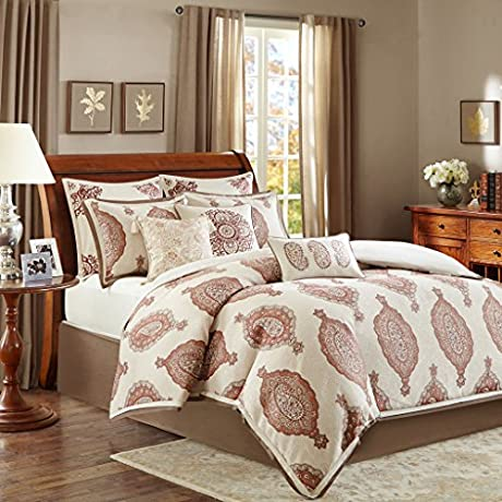 Bombay Estella Bedding Set Spice King