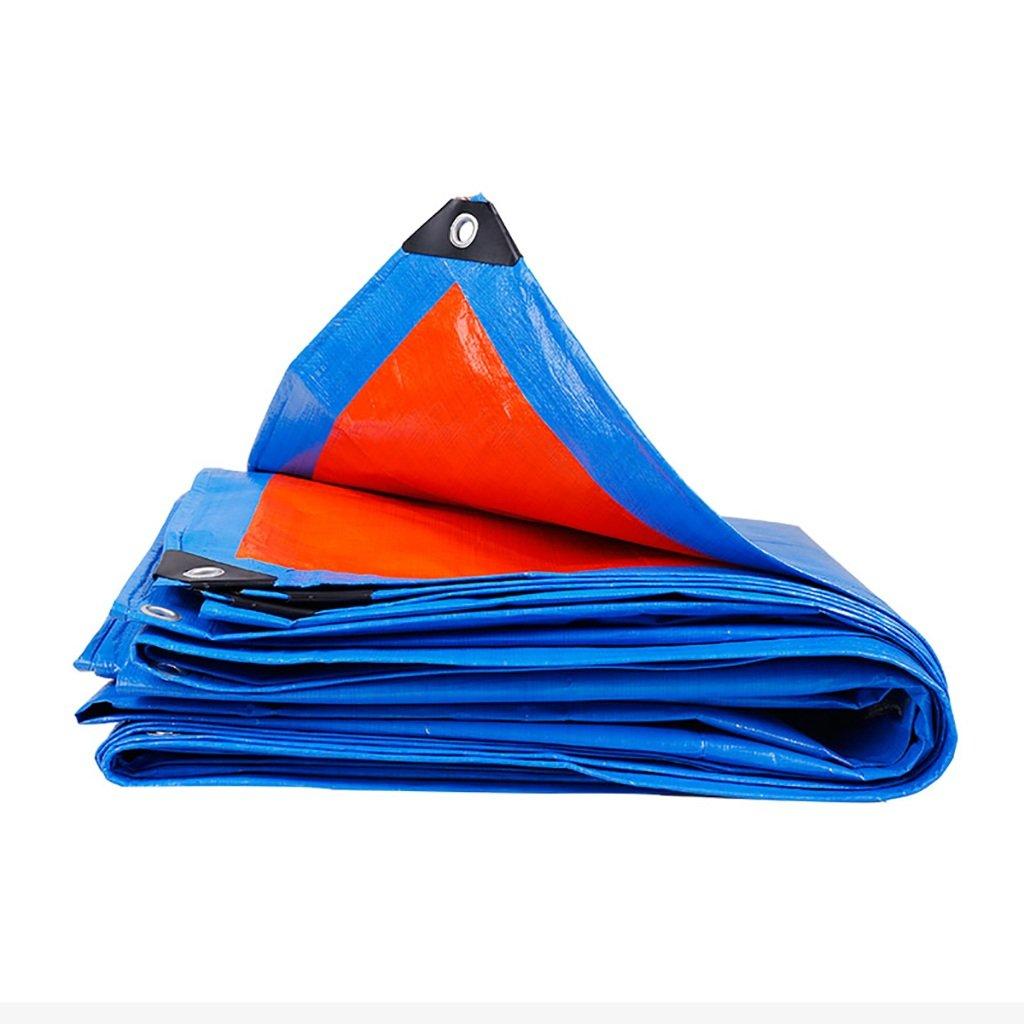 encerado de alta resistencia Espesar PE a prueba de lluvia Carro del compartimiento Patio de carga Patio de la tienda de tela al aire libre 0.16 kg / m2 11 tamaños (Tamaño : 3  4m)