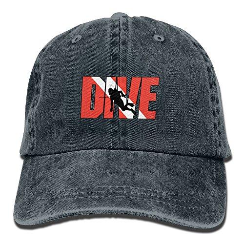 Diving Adjustable Hat - 1