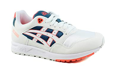 | ASICS Gel Saga WhiteFlash Coral | Fashion