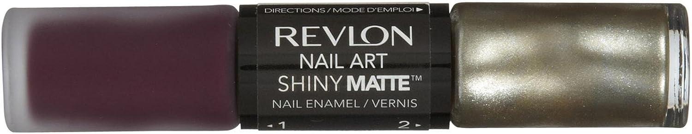 Revlon Nail Art Shiny Matte - Enamel