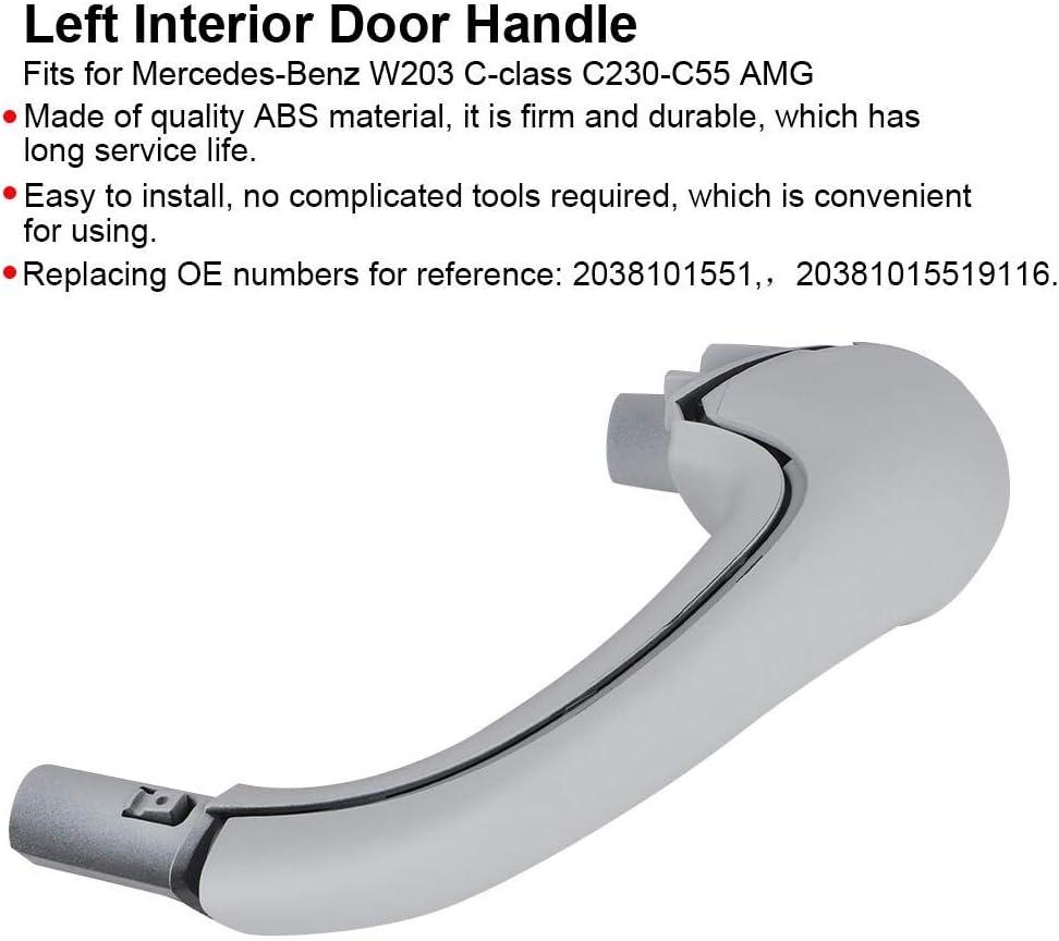 Genuine For Mercedes 20381015517376 Inside Door Pull Handle Alpaca Gray
