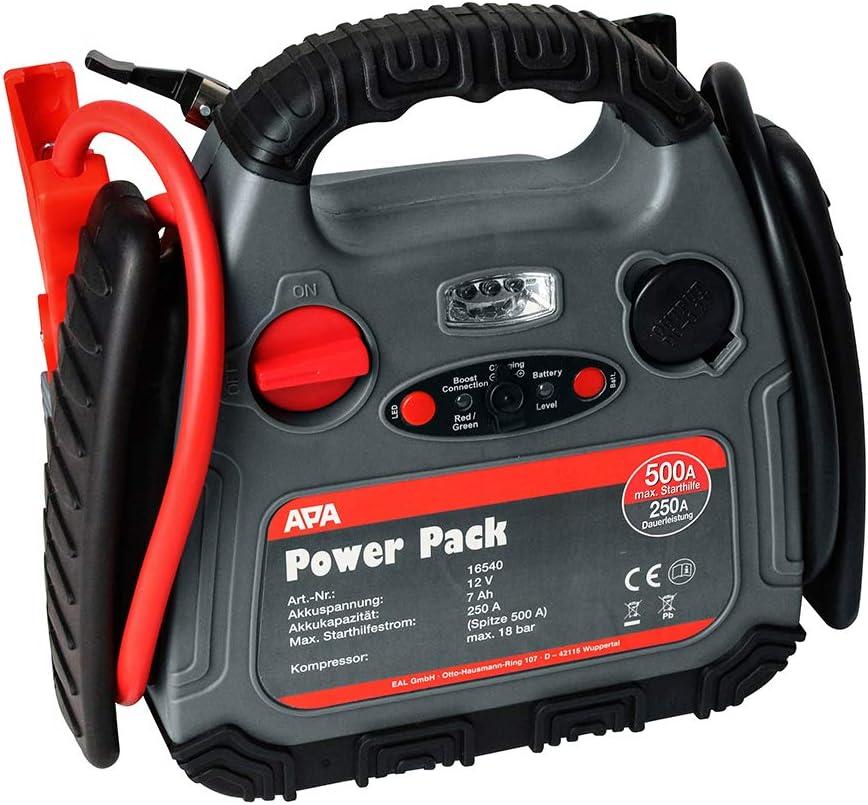 Apa 16540 Powerpak Mit Kompressor 18 Bar Auto