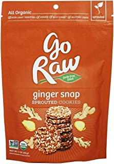 product image for Go Raw - Sprouted Cookies Ginger Snap - 3 oz.