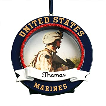 Amazoncom Giftsforyounow Us Marines Personalized Photo Frame