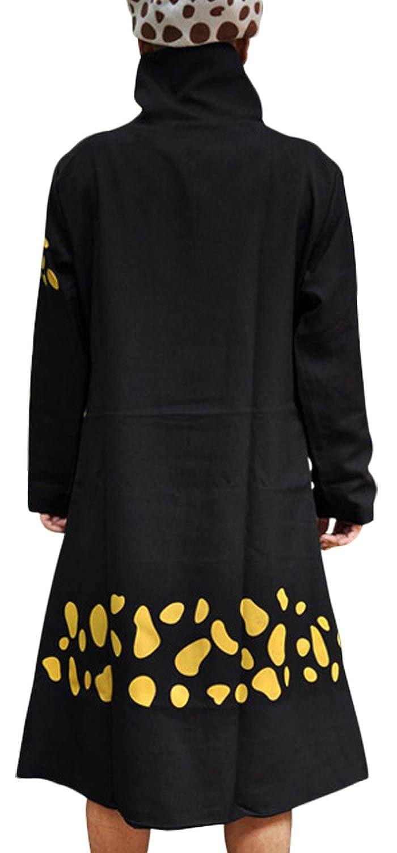 Pulla A Anime One Piece Cosplay 2nd Trafalgar Law Cloak Death Doctor Hoodie Jacket Costume Clothing