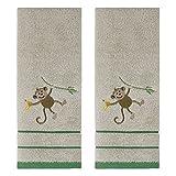 Saturday Knight Let's Hang 2pc Hand Towel Set