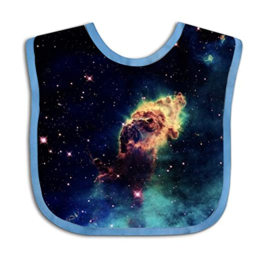 Baby Gifts Under Starry Sky Baby Bib Soft Material Comfortable Feeling Baby