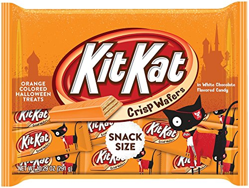 KIT KAT Halloween Orange Colored White Creme Wafer Bars (10.29 Ounce Bag, Pack of 6) (Halloween Candy)