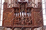 St. James's Church Holy Blood Altar in Rothenburg ob der Tauber, Germany Europe St Jakob Church Carved by Tilman Riemenschneider 1500-1505 Last Supper Wood Carving Fine Art Photography Photo Print