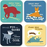 Dog Is Good® - Four Piece Coaster Set
