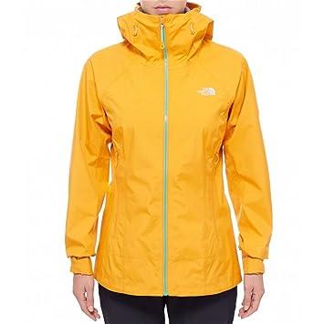 38149c7ccf THE NORTH FACE W Oroshi Jacket Manteau pour Femme M Orange: Amazon ...