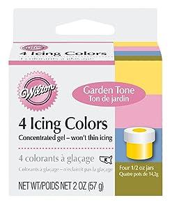 Wilton Garden Tone 4-Piece Colors Set