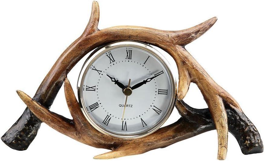 SPI Home Antler Table Clock