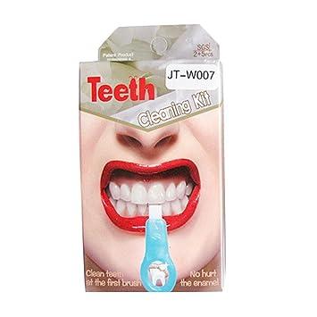 Kit de limpieza de los dientes, toamen limpieza de los dientes productos profesionales las bandas