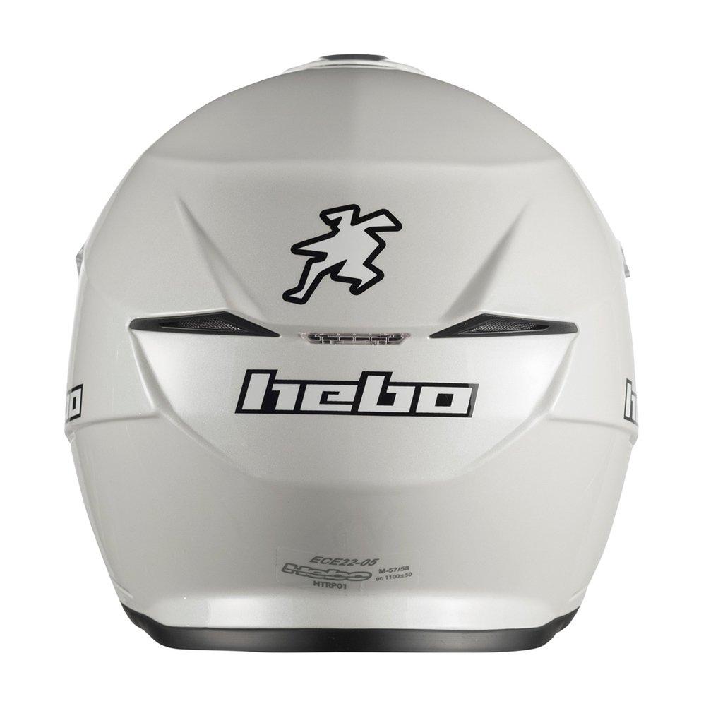 wei/ß M Gr Hebo Trial Zone 5/Helm