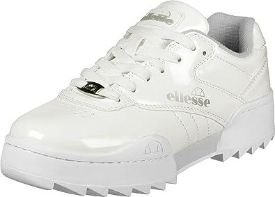ellesse Plativo SGFU0309 White !!FR damskie Sneakers (36, White ... f8e9171cd967