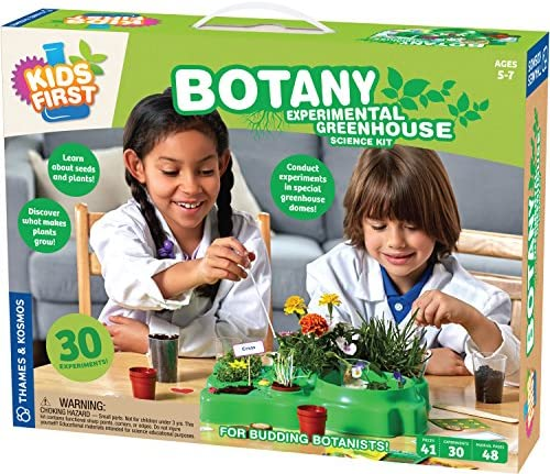 Thames & Kosmos Kids First Botany - Experimental Greenhouse Kit Model:567004