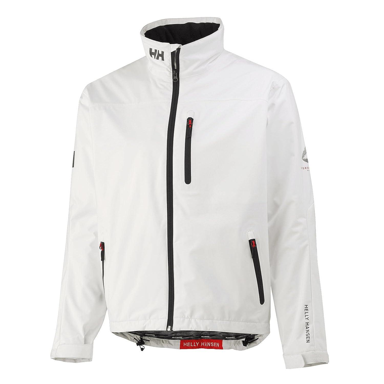Helly Hansen Mens Crew Midlayer Fleece Lined Waterproof Windproof Breathable Rain Coat Jacket