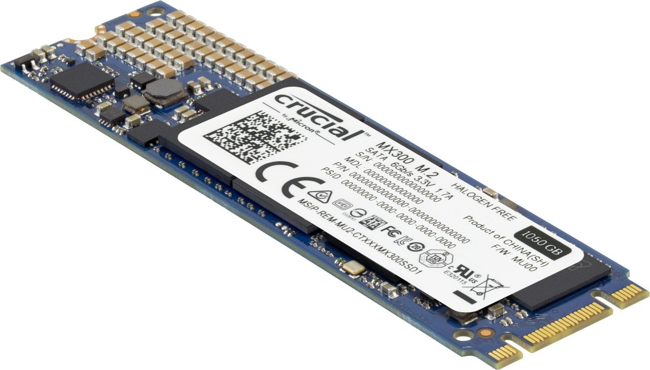 Crucial MX300 1TB SATA M.2 (2280) Internal Solid State Drive - CT1050MX300SSD4 by Crucial (Image #2)