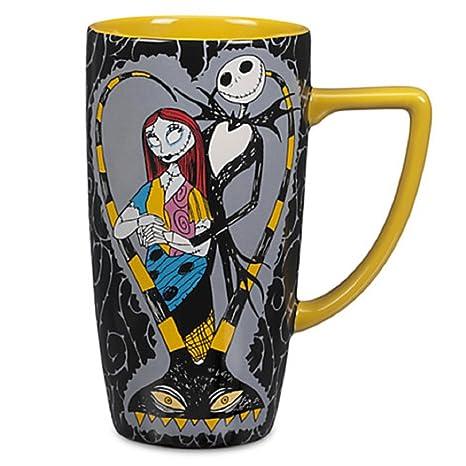 Nightmare Before Christmas Coffee Mug.Disney Store Jack Skellington And Sally Coffee Mug Cup Nightmare Before Christmas