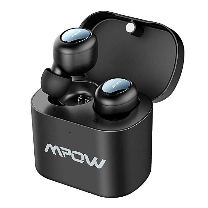 16d15f53b47 Mpow True Wireless Earbuds, 3D Stereo Sound Buletooth Earbuds with  Mircrophones, V5.0