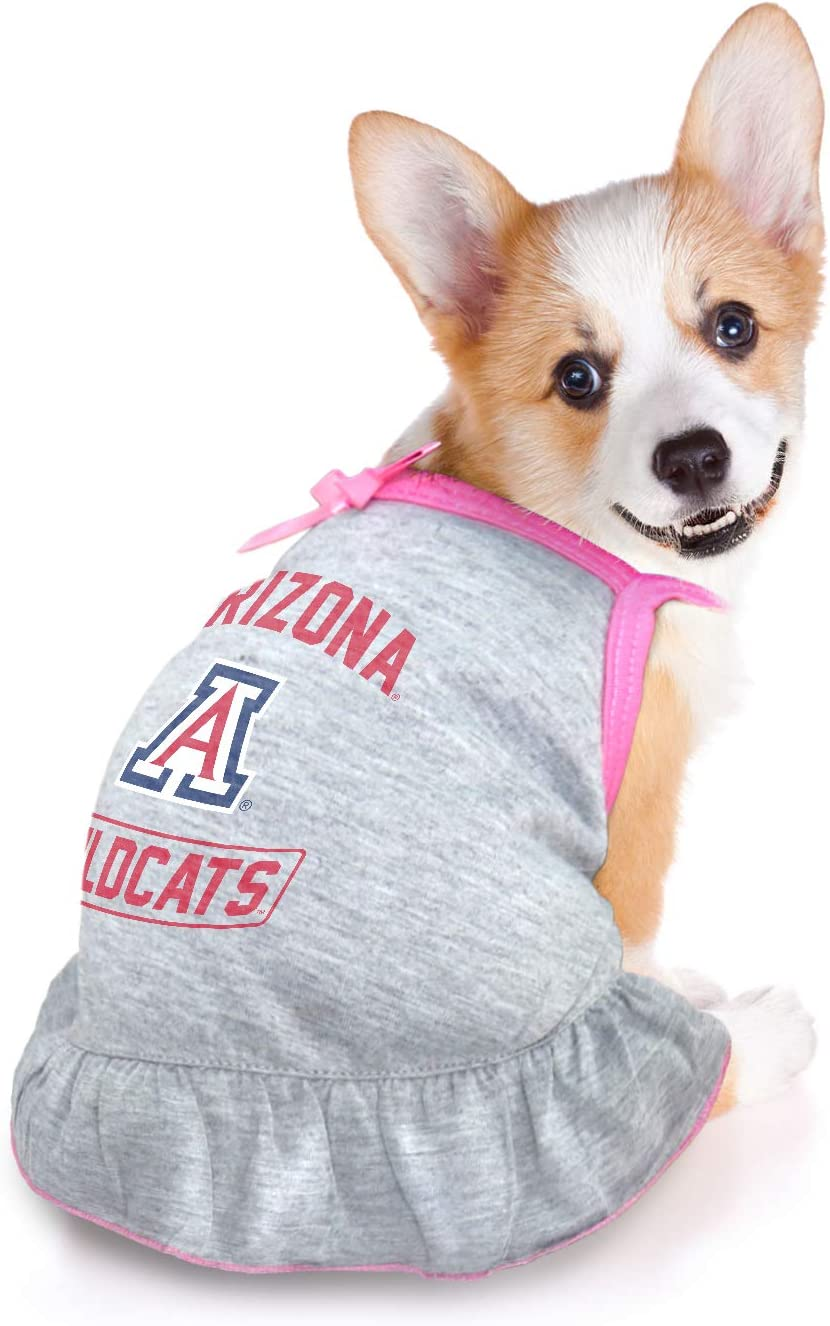 Littlearth NCAA Arizona Wildcats Pet Dress Extra Small