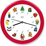 "KOOKOO Reloj Pared KooKoo ""Noche de Paz"" (21cm"