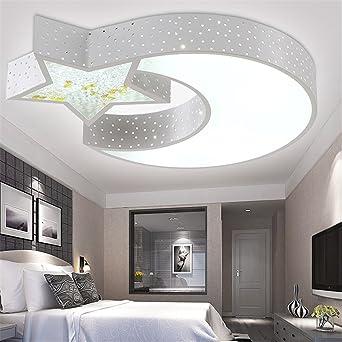 malovecf led habitacin de los nios lmpara de techo infantil lmpara dormitorio proyeccin estudio luz nia