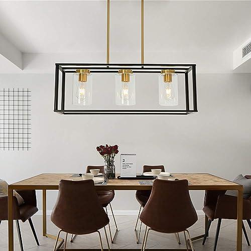 Cheap VINLUZ Industrial Chandeliers 3 Light living room chandelier for sale
