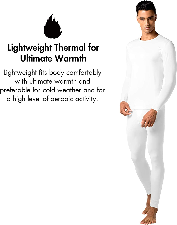Bas Cale/çon Long sous-V/êtement L/ÉGER ET Chaud M10//M56 LAPASA Lot de 1 ou 2 Pantalon Thermique Homme Doublure Polaire