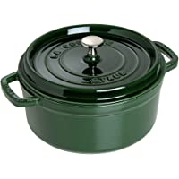 Polvo Cocotte Single Pan – Cacerola (Single Pan, Verde, Hierro