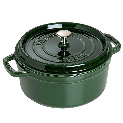Polvo Cocotte Single Pan - Cacerola (Single Pan, Verde, Hierro ...