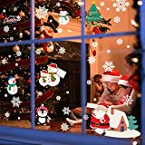 Christmas Window Clings Set of 6 DIY Christmas