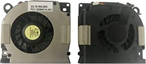 Todiys CPU Fan for Dell Inspiron 1525 1526 1545 1546 Latitude D620 D630 D630C D631 Laptop NN249 PP18L PP29L C169M KSB06205HA F6H3-CW UDQFZZR03CCM GB0507PGV1-A DC28A000K0L