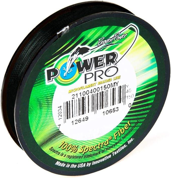 Power Pro Classic 135/m Moss Green Braided Fishing Line
