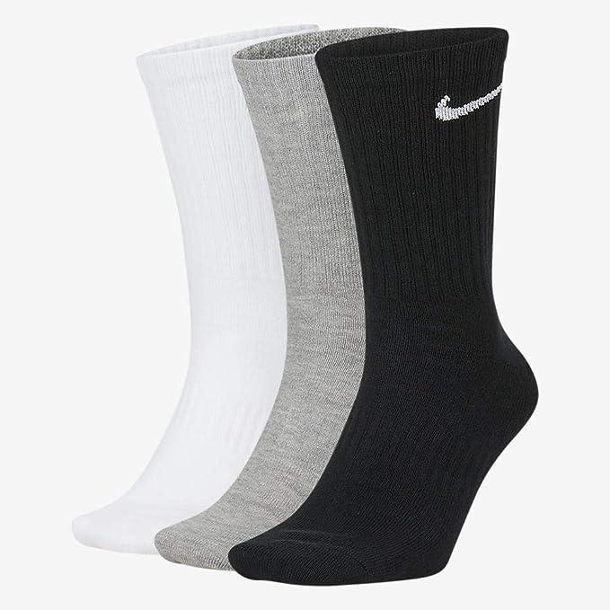 sábado caldera Medio  NIKE Everyday Lightweight Crew Trainings Socks (3 Pairs) Calcetines Hombre:  Amazon.es: Ropa y accesorios
