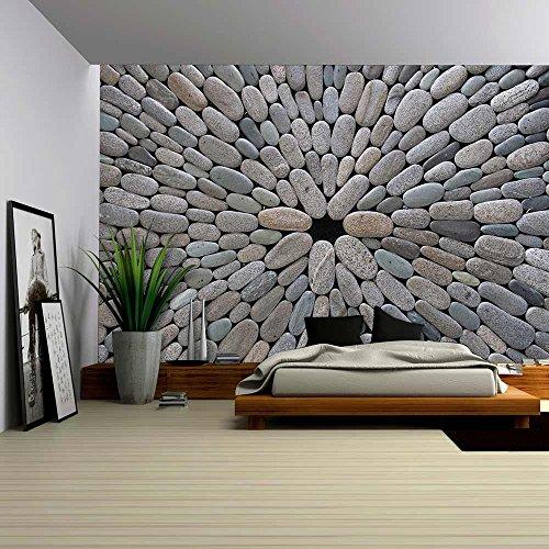 Round Stone Background