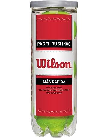 Wilson Padel Rush 100 Pelotas de Tenis, Unisex, Amarillo, Talla Única