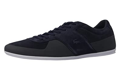 57f872bc165a3 Lacoste Mens Mens Turnier Trainers in Navy - UK 12  Amazon.co.uk ...