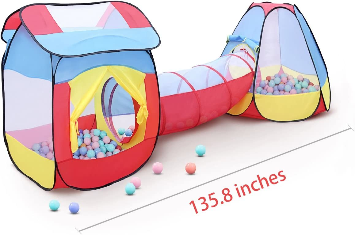 GrowthPic Kids Play Tent Set with Tunnel ...  sc 1 st  Amazon.com : kids play tent and tunnel set - memphite.com