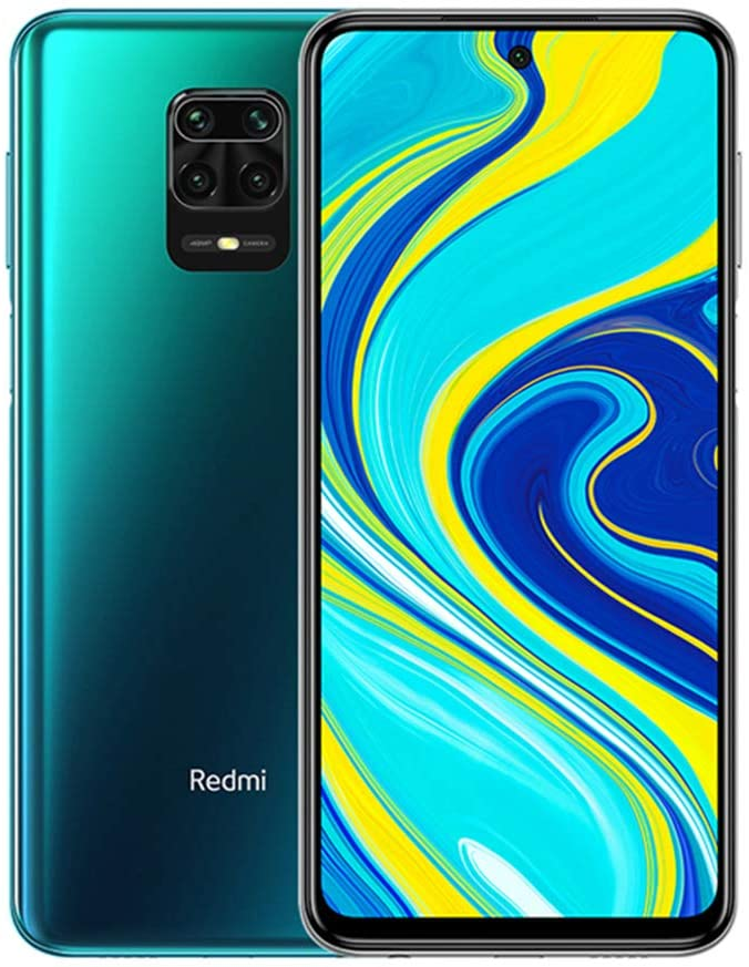 "Xiaomi Redmi Note 9S 6.67"" 48MP International Global Version (Aurora Blue, 4GB/64GB)"